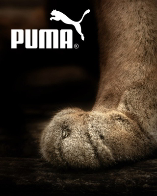 Puma Fluffy Logo - Obrázkek zdarma pro Nokia 206 Asha