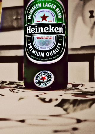 Heineken - Obrázkek zdarma pro 320x480