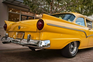 Ford Custom 300 1957 Wallpaper for Android, iPhone and iPad
