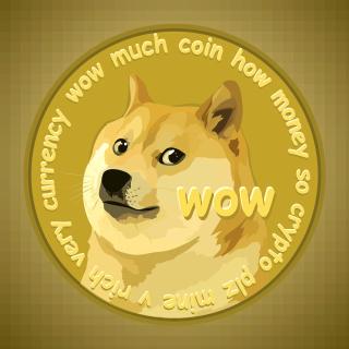 Dog Golden Coin - Obrázkek zdarma pro iPad mini 2