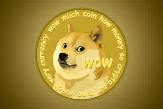 Free Dog Golden Coin Picture for Android, iPhone and iPad