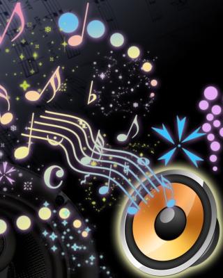 Audio Art - Obrázkek zdarma pro 320x480