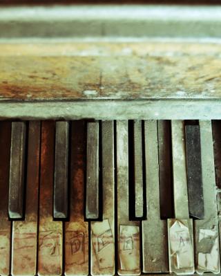 Old Piano Keyboard - Obrázkek zdarma pro Nokia Lumia 2520