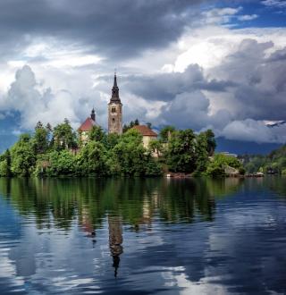 Lake Bled, Slovenia - Obrázkek zdarma pro 128x128