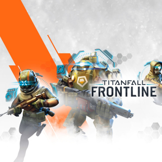 Titanfall Frontline Mobile Phone Game - Obrázkek zdarma pro iPad Air