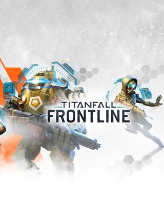 Titanfall Frontline Mobile Phone Game - Obrázkek zdarma pro Nokia C2-00