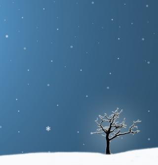 Last Winter Tree - Obrázkek zdarma pro iPad mini