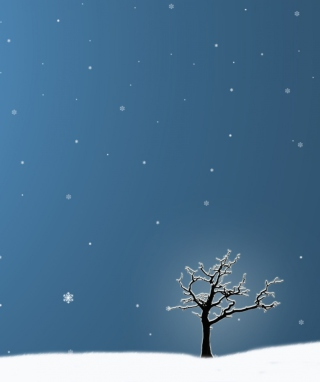 Last Winter Tree - Obrázkek zdarma pro 360x640