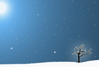 Last Winter Tree Wallpaper for Android, iPhone and iPad