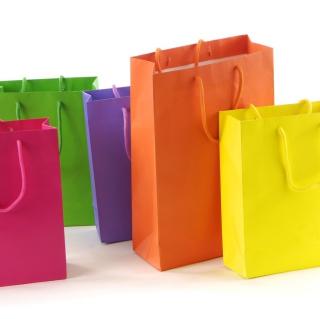 Shopping Bags - Obrázkek zdarma pro iPad mini 2