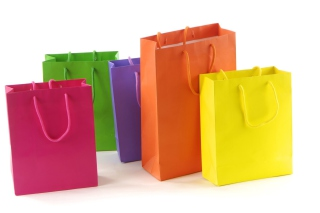 Shopping Bags - Obrázkek zdarma pro Motorola DROID