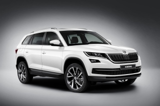 Skoda Kodiaq White Wallpaper for Android, iPhone and iPad