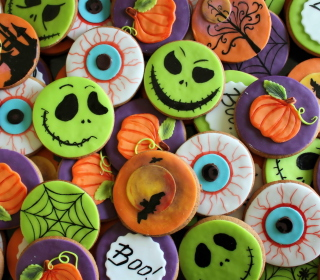 Scary Cookies - Obrázkek zdarma pro iPad