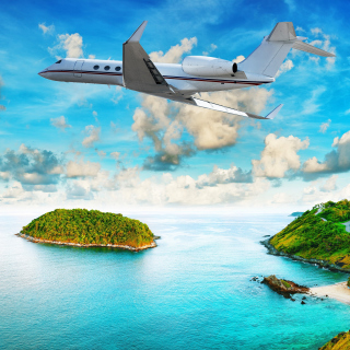 Private Island Luxury Holiday - Obrázkek zdarma pro iPad Air
