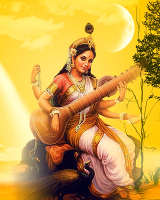 Saraswathi God Picture for Nokia N8