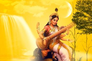 Saraswathi God - Obrázkek zdarma pro Android 320x480