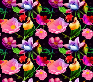Colorful Flowers - Obrázkek zdarma pro 128x128