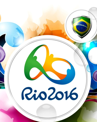Olympic Games Rio 2016 - Obrázkek zdarma pro iPhone 5S