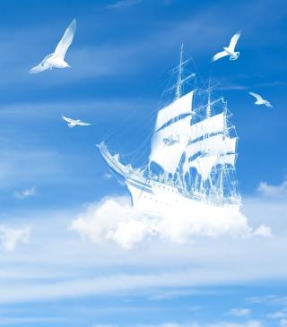 Dreamy Clouds - Obrázkek zdarma pro Nokia C2-05