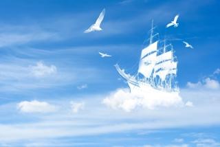 Dreamy Clouds - Obrázkek zdarma pro 176x144