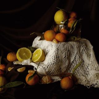 Still Life with Fruit - Obrázkek zdarma pro iPad mini