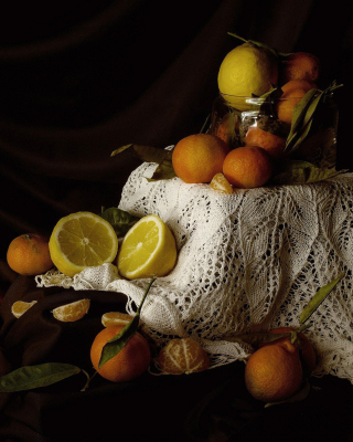 Still Life with Fruit - Obrázkek zdarma pro iPhone 4S
