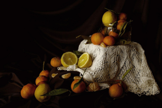 Still Life with Fruit - Obrázkek zdarma pro 480x320