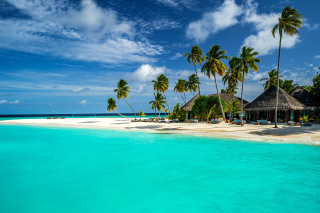 Bungalow Hotel and Villa on Maldives Wallpaper for Android, iPhone and iPad