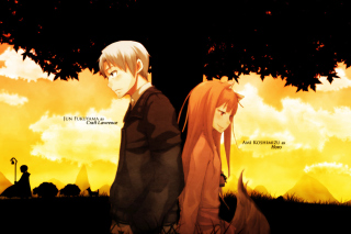 Spice And Wolf Wallpaper for Android, iPhone and iPad