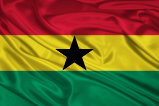 Ghana Flag Picture for Android, iPhone and iPad