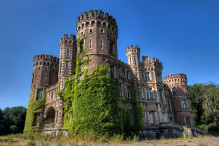 Chateau La Foret - Belgium Castle Wallpaper for Android, iPhone and iPad