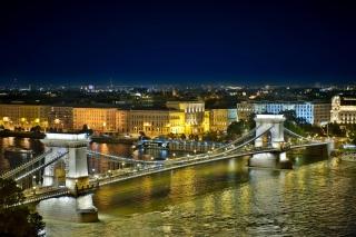 Budapest Danube Bridge - Obrázkek zdarma pro Samsung Galaxy Grand 2