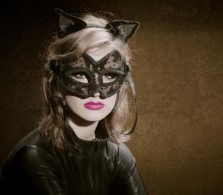 Cat Woman Mask - Obrázkek zdarma pro iPad 2