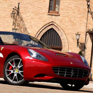 Ferrari California T Super Car - Obrázkek zdarma pro 208x208