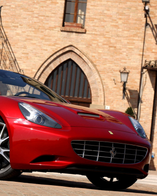 Ferrari California T Super Car - Obrázkek zdarma pro 240x400