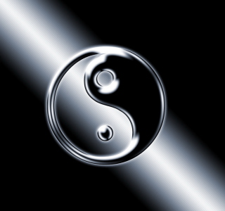 Yin Yang Symbol - Obrázkek zdarma pro iPad mini