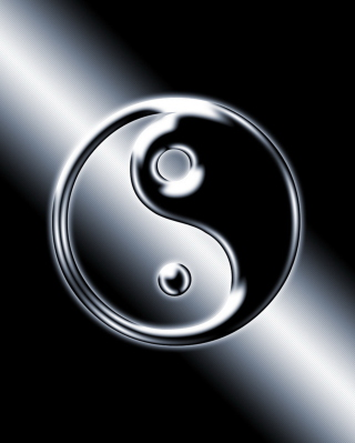 Yin Yang Symbol - Obrázkek zdarma pro 750x1334
