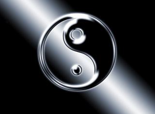 Yin Yang Symbol - Obrázkek zdarma pro Android 1080x960