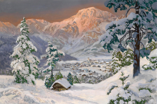 Alois Arnegger, Alpine scenes Background for Android, iPhone and iPad