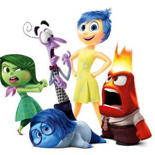 Inside Out, Pixar - Obrázkek zdarma pro iPad mini 2