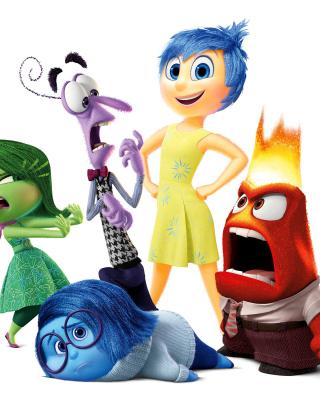 Inside Out, Pixar - Obrázkek zdarma pro iPhone 5
