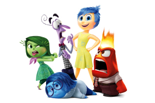 Inside Out, Pixar Background for Android, iPhone and iPad