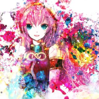 Megurine Luka Vocaloid - Obrázkek zdarma pro 320x320