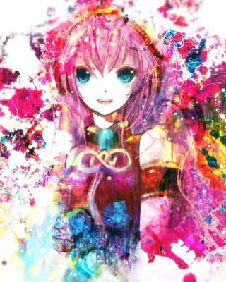 Megurine Luka Vocaloid - Obrázkek zdarma pro 360x480