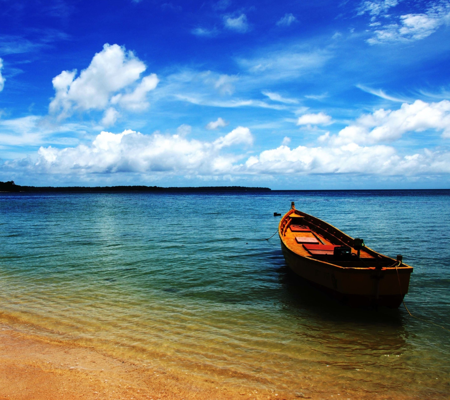 boat on sea shore wallpaper for huawei p6