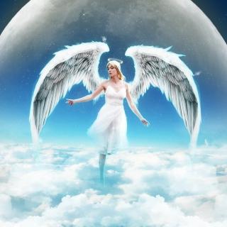 Beautiful Blonde Angel - Obrázkek zdarma pro 128x128