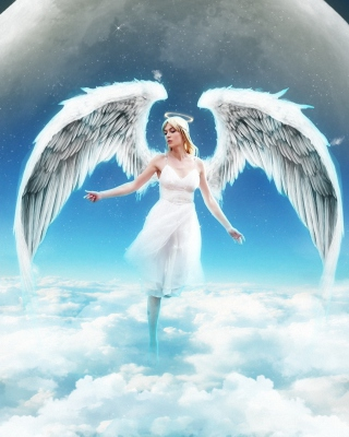 Beautiful Blonde Angel - Obrázkek zdarma pro Nokia Asha 501