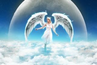 Beautiful Blonde Angel - Obrázkek zdarma pro HTC One X
