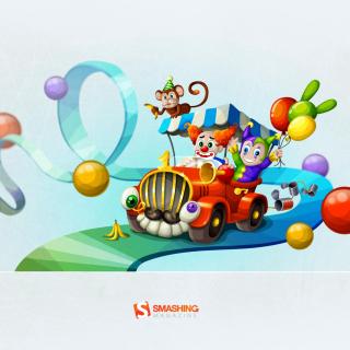 Circus - Obrázkek zdarma pro iPad mini