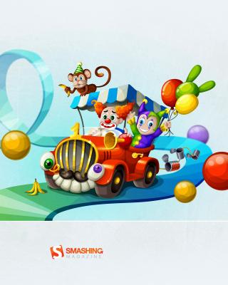 Circus - Obrázkek zdarma pro Nokia X6